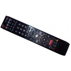 Replaced Remote Control Compatible for Sharp LC70LE745 LC70LE640U LC-60LE830 LC70LE735U LC-60LE832U AQUOS LED LCD HD TV with NETFLIX 3D Button - intl