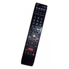 Diganti Remote Control Kompatibel untuk Sharp LC70LE745U LC-70LE650U LC-60LE830U LC70LE835 LC60LE830 AQUOS LED LCD HD TV dengan NETFLIX 3D Tombol -Intl