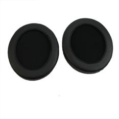 Sumbat-sumbat Telinga Bagian For Pengganti Bantal Audio Technica ATH-M50 ATH-SX1 Headset (Hitam)-International