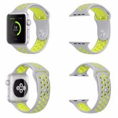 Pawaca Penggantian untuk Apple Jam Tangan Nike Tali 42 Mm, lembut Silikon Nike + Gaya IWatch Tali Tali Bagian Manset Lengan Kemeja untuk Apple Jam Tangan Seri 1 dan Seri 2