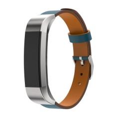 Spesifikasi Tali Gelang Pintar Dari Kulit Asli Untuk Fitbit Alta Tracker Biru Intl Yang Bagus