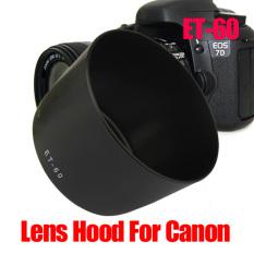 Lensa Pengganti Hood untuk Canon EF-S 55-250 Mm F/4-5.6 IS ET-60 ET60 600D-Intl