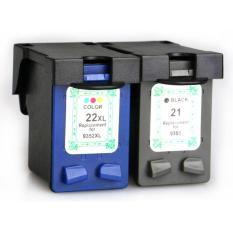 Replacement Printer Ink Cartridge HP H-21XL Black Face - Black