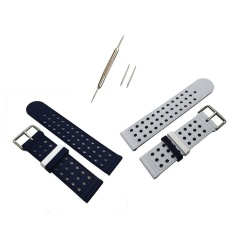 Penggantian Silicone Band Strap Bracelet untuk Samsung Gear S3 Frontier Berkualitas HOT-Intl