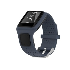 Beli Replacement Silicone Band Strap For Tomtom Multi Sport Cardio Gps Watch Gy Intl Kredit Tiongkok
