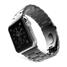 Spesifikasi Replacement Stainless Steel Band Strap Bracelet For Apple Watch 42Mm Black Intl Yang Bagus Dan Murah