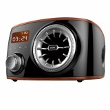 Beli Retro Speaker Bluetooth 4 Dengan Smart Alarm Clock Fm Radio Mendukung Tf Card Intl Online