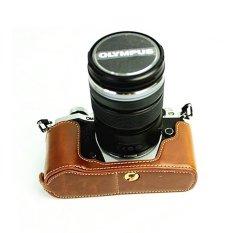 Diskon Retro Vintage Kasus Tas Kamera Cocok Untuk Olympus Om D E M5 Mark Ii Em5 Ii Em5Ii Bawah Pu Leather Half Body Set Cover Intl Oem