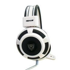 Jual Rexus F15 Headset Gaming Mic Led Light White Termurah