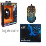 Top 10 Rexus Gt3 Gaming Mouse 4D Usb With Rainbow Led Mousepad Gaming Hitam Online