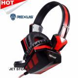 Promo Rexus Headphone Gaming F22 Merah Indonesia