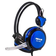 Rexus Headset Gaming Rexus Rx 995 Biru Rexus Diskon 30