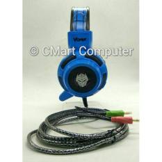 Beli Rexus Headset Gaming Vonix F26 F 26 F 26 Headphone Head Set Ea Phone Blue Murah