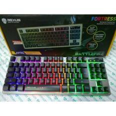 Rexus Keyboard Gaming K9TKL  K9 TKL Ten Key Less