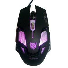 Promo Rexus Mouse Gaming Makro Usb Rxm X7 Hitam Rexus