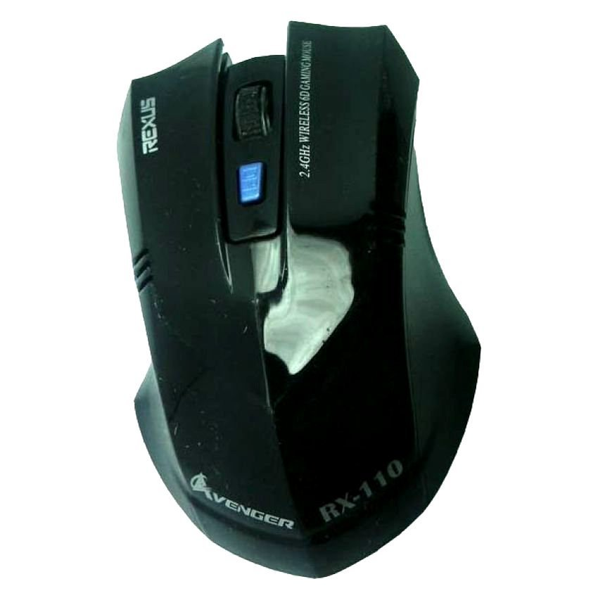 Harga Rexus Mouse Gaming Wireless Avenger Rx 110 Hitam Baru