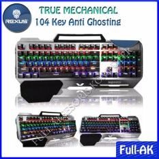 Rexus MX1 Professional Gaming Keyboard True Mechanical with Backlight