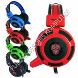 Harga Rexus Pro Gaming Headset F15 Led Red Satu Set