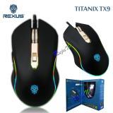 Review Rexus Titanix Tx9 Macro Gaming Mouse 6D Usb With Rgb Led Hitam Di Indonesia