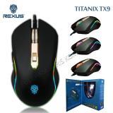 Harga Rexus Titanix Tx9 Macro Gaming Mouse 6D Usb With Rgb Led Hitam Terbaik