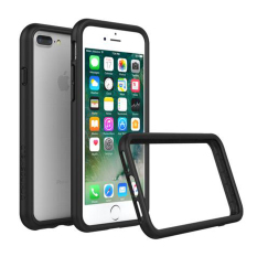 Beli Barang Rhino Shield Crash Guard Bumper Only For Iphone 7 Plus Iphone 8 Plus Black Online