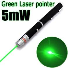 RHS Online Pena Penunjuk Sinar Laser Daya Tinggi Fokus 532nm Terbakar 5 MW Hijau-Intl