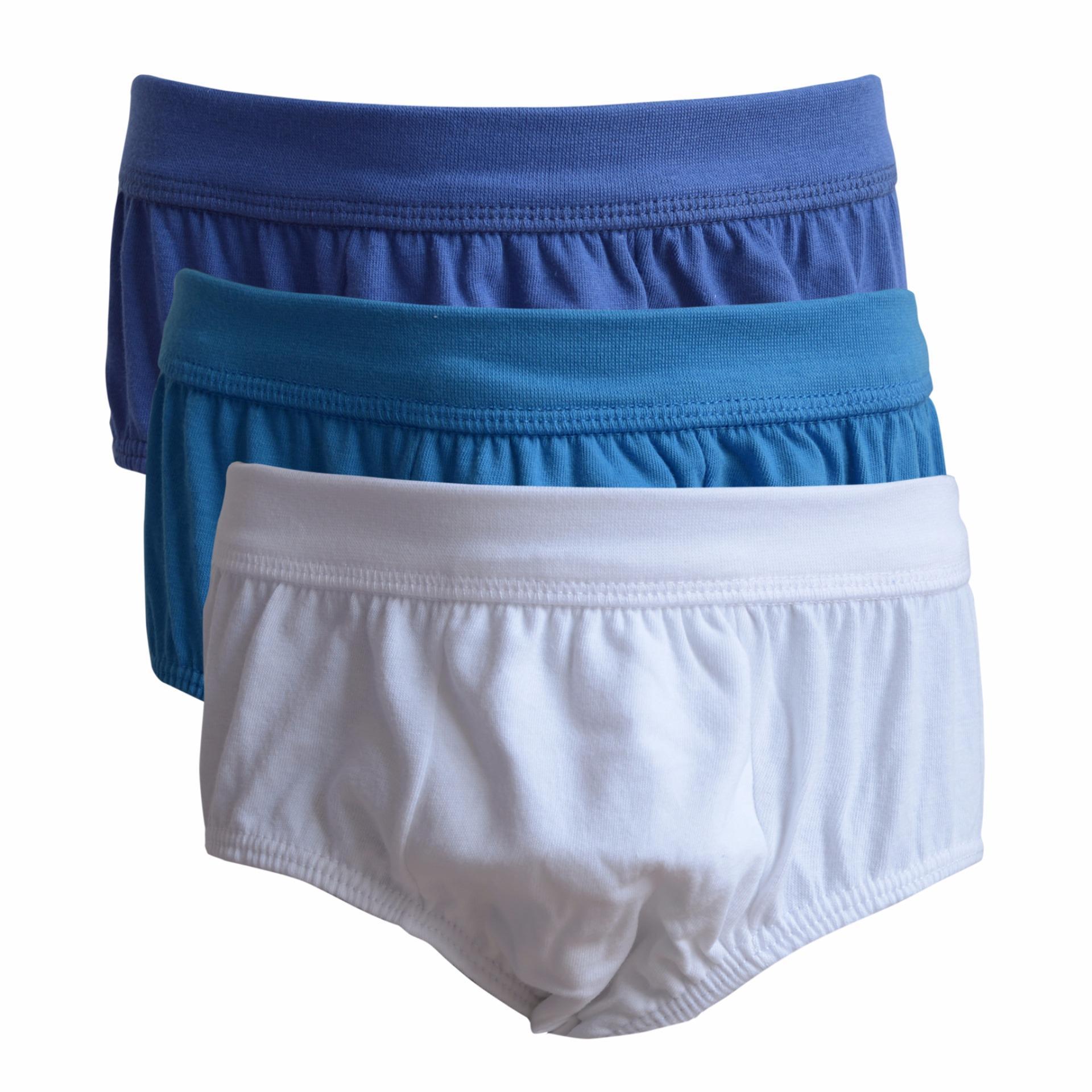Fashion Pakaian Dalam Anak Laki Celana Pria Agree Original Isi 3 Pcs Rider Kids R210bb Model Briefs Multicolor