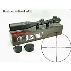 Iklan Riflescope Bushnell 4 16X44 Aoe Riticle Mildot Gold