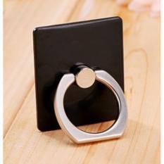 Rimas Finger iRing Universal Mount Smartphone Holder - Black / Hitam / Rose Gold Pink / Emas Merah Muda / White / Putih / Ring Cincin Hp Handphone Multifungsi Stand Holder Tempat Penyangga Berkualitas