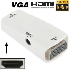 Rimas Full HD 1080P HDMI Female to VGA and Audio Adapter for HDTV