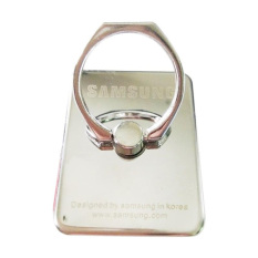 Harga Ring Pack Logo Samsung Stand Mobile Phone Standing Holder Silver Terbaik