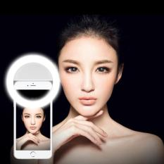 Ringlight Selfie Lampu Selfie LED Flash Photography Ring Light Eye Portable