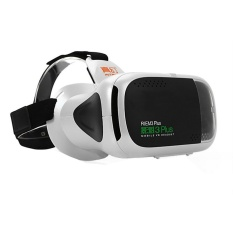 RITECH III Plus VR 360 Viewing Immersive Virtual Reality 3D GlassesCardboard FOV 75 Degree for 4.7- 6 inch Phone White - intl