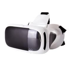RITECH Riem 3 Plus Head Mount 360 Degree VR Virtual Reality 3DGlasses for 4.7-6 inch Phone White - intl