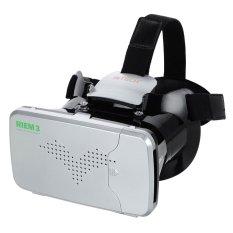 Ritech Riem 3 VR Cardboard 3D Virtual Reality 3rd Generation - Putih