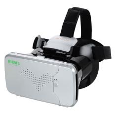 Ritech Riem 3 VR Cardboard 3D Virtual Reality 3rd Generation - White