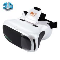 Ritech RIEM3 Plus 3D VR Realitas Maya Headset Seluler 360 Derajat Video Private Cinema Kacamata Helm dengan AR Augment Realitas jendela untuk 4.7-6 Inch Ponsel Pintar-Internasional
