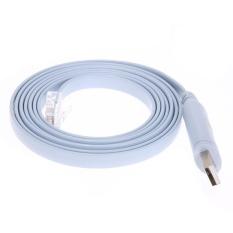 Diskon Besarrj45 Kabel Usb Ke Serial Rs232 Konsol Rollover Kabel Untuk Cisco Route Intl
