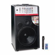 Spesifikasi Roadmaster Public Address Speaker 12 Full Range Bluetooth Pa 12 Hitam Beserta Harganya