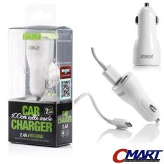 Robot Car Charger Mobil 2 port 2.4A USB Cigarette Lighter ROB-RT-C05S