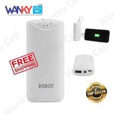 Spesifikasi Robot Power Bank Rt5700 5200Mah By Vivan Putih Yang Bagus