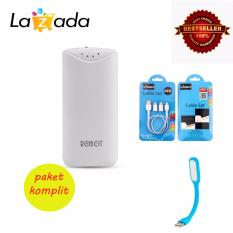 Review Toko Robot Power Bank Rt5700 5200Mah By Vivan Vivan Kabel Set Lamp Led Usb Online