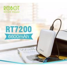 Harga Robot Power Bank Rt7200 6600 Mah Putih Dki Jakarta