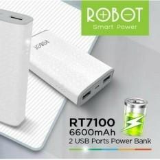 Robot Powerbank RT7100 Fast Charging Terupdate Termurah
