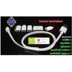 ROBOT TPE600 Cable Set full all connector ( untuk segala type hp dan taublet)