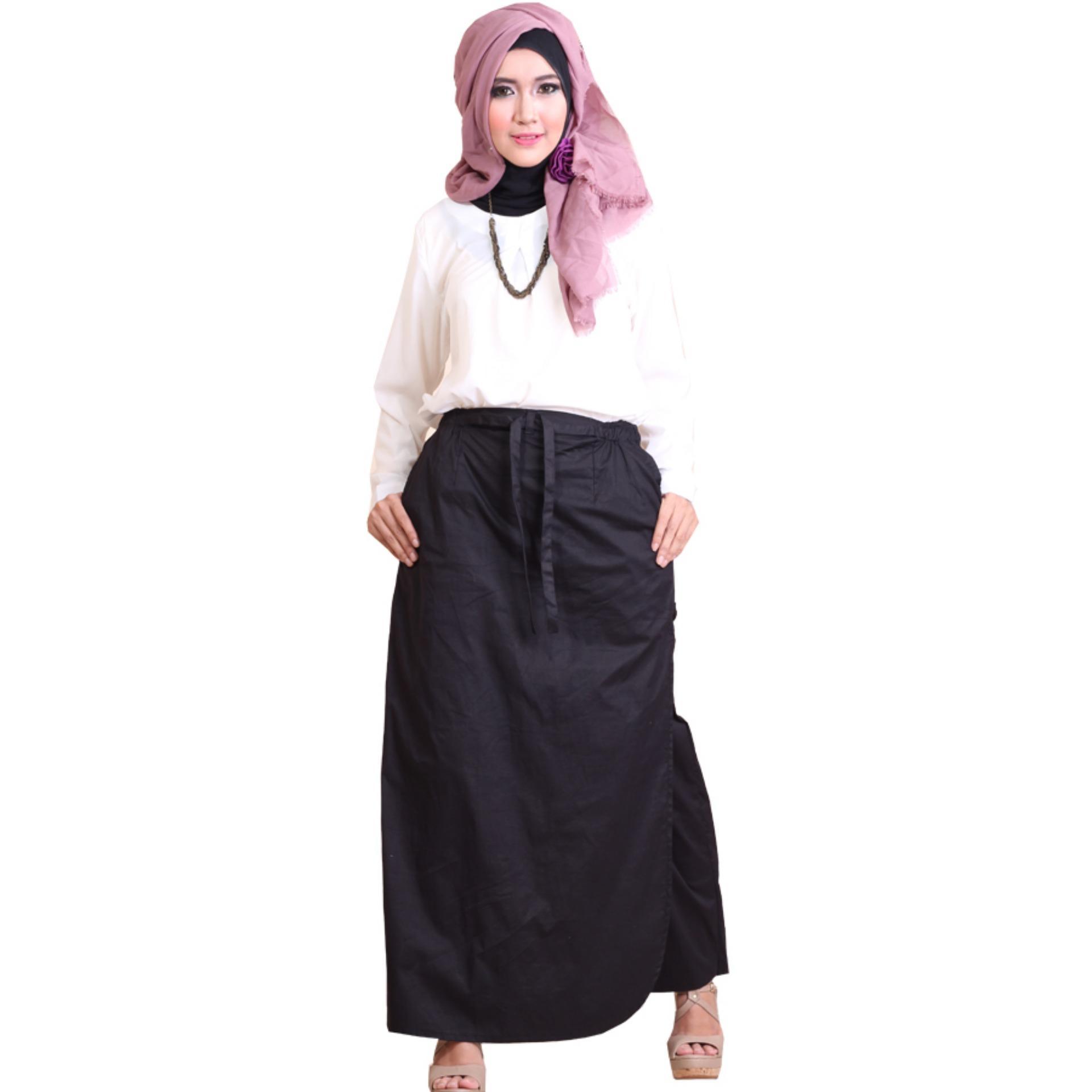 Tips Beli Rocella Rok Celana Rania Rok Celana Katun Stretch Black
