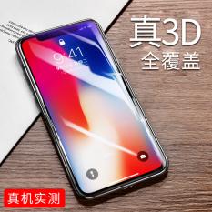 Rock 3D Apel Telepon Iphone Ponsel Layar Penuh Pelindung Layar Pelindung Layar Pelindung Layar