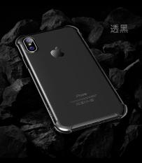 Rock Casing HP Apple Softcase Silikon Transparan Sangat Tipis