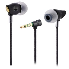 Diskon Produk Rock Zircon Nano Stereo Earphone With Mic Hi Fi 3 5Mm Jack Cable Intl