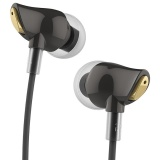 Ulasan Rock Zircon Stereo Earphone Dengan Mic Bahan Nano 3 5Mm Audio Input Hd Tone Intl